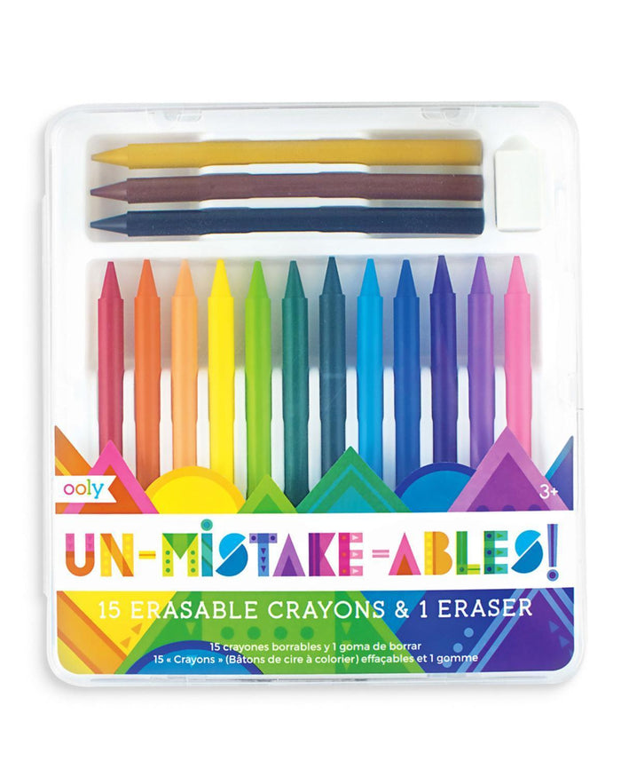 Little ooly play unmistakeable erasable crayons