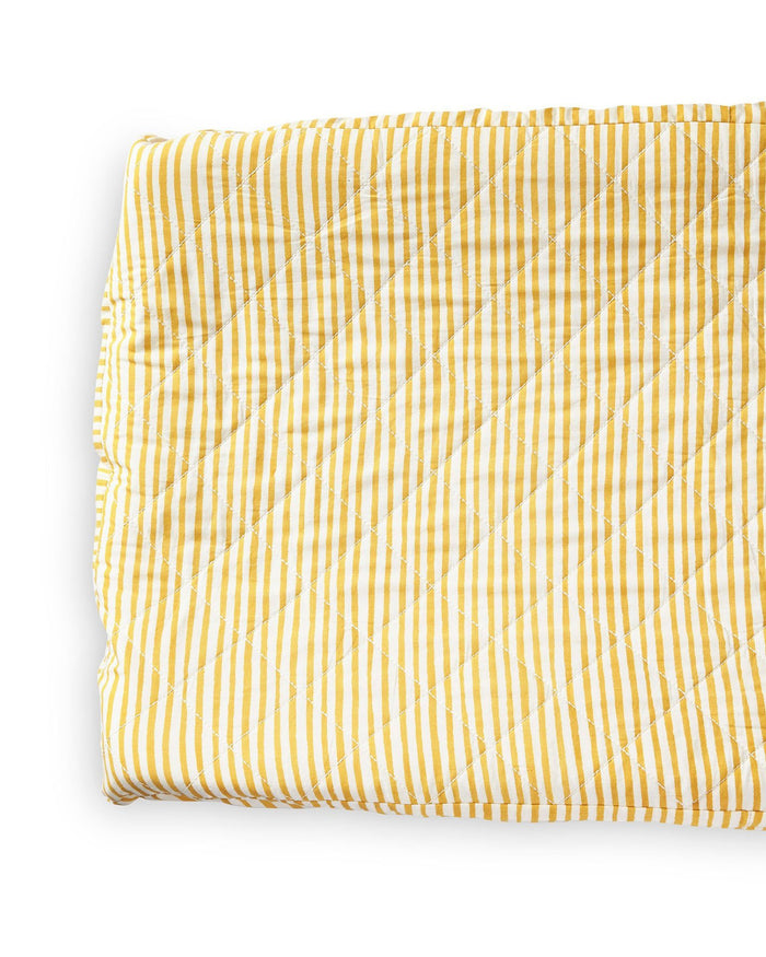Little pehr designs inc room stripes away change pad cover in marigold