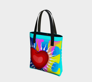 Love - Heart - B - Tote bag - Chady Elias