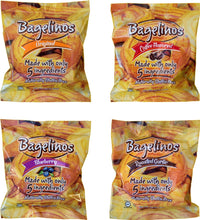 Bagelinos Variety Box (Original, Coffee, Blueberry, Garlic) Bagel, Gluten-Free, 2.9 OZ, Healthy, Delicious, Certified