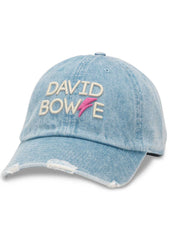 American Needle Bowie Round Up Baseball Hat in Light Denim