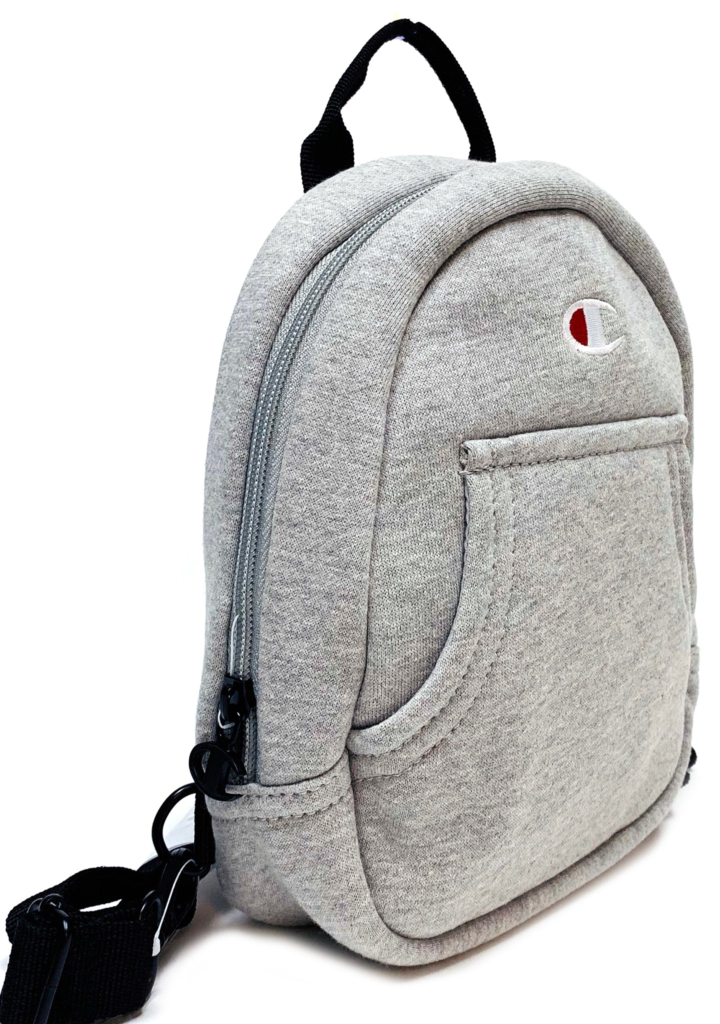 Champion Reverse Weave Mini Convertible Backpack in Med Gray