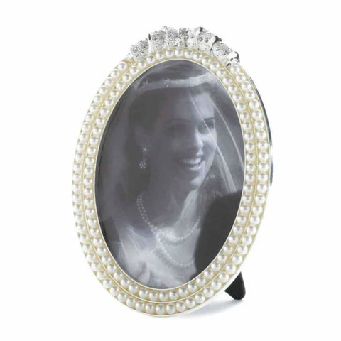 Strands Of Pearl Photo Frame 5X7 Picture Frames