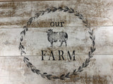 Farm Animals Décor Stamp™