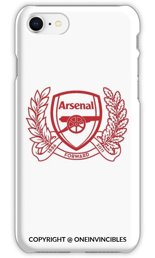 Arsenal Forward Iphone 6S / Tough White Phone Cases