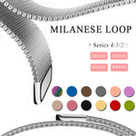 Milanese Loop Strap Stainless Steel Bracelet For Apple Watch Series