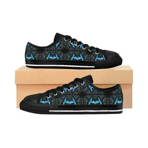 """Black Hole"" Deluxe Women's Sneakers - And Above All...YOGA"