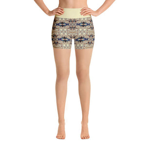"""Classical Movement"" Made to Order Deluxe Yoga Shorts - And Above All...YOGA"
