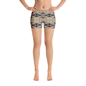 """Classical Movement"" Made to Order Standard Yoga Shorts - And Above All...YOGA"