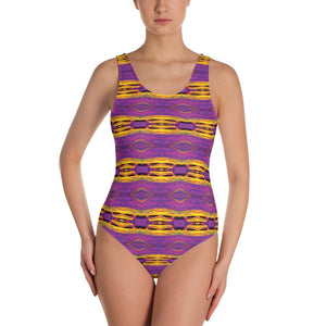 """Crayons"" Made to Order, One-Piece Swimwear - And Above All...YOGA"