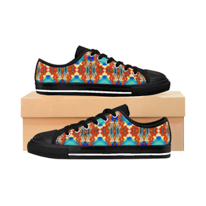 """Dragons Dancing"" Deluxe Women's Sneakers - And Above All...YOGA"