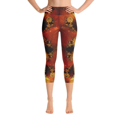 """Enigmatic"" Capri Yoga Pants - And Above All...YOGA"