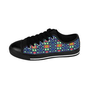 """Fireworks"" Deluxe Women's Sneakers - And Above All...YOGA"