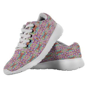 """Floral Riot"" Running Shoes - And Above All...YOGA"