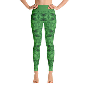 """How Green Was My Valley"" Deluxe Made to Order Yoga Pants-Fitness Wear, yoga pants, $50 and above-And Above All...YOGA"
