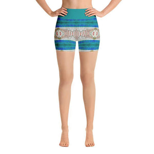 """Imagination"" Yoga Shorts - And Above All...YOGA"