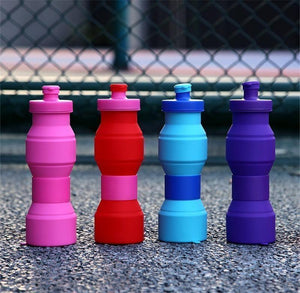 New ! 800ML Folding Outdoor Travel Water Bottle Water Bottle