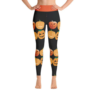"""Pumpkin Patch"" Deluxe, Made to Order Yoga Pants - And Above All...YOGA"