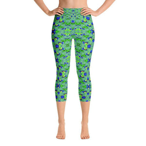"""Tranquility"" Yoga Capri Pants - And Above All...YOGA"