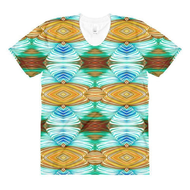 """Weaver's Needle"" Women's Crew Neck T-Shirt - And Above All...YOGA"