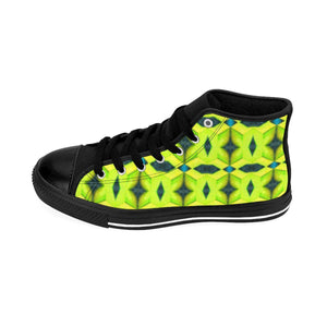 """Yellow Brick Road"" Deluxe Women's High-top Sneakers - And Above All...YOGA"