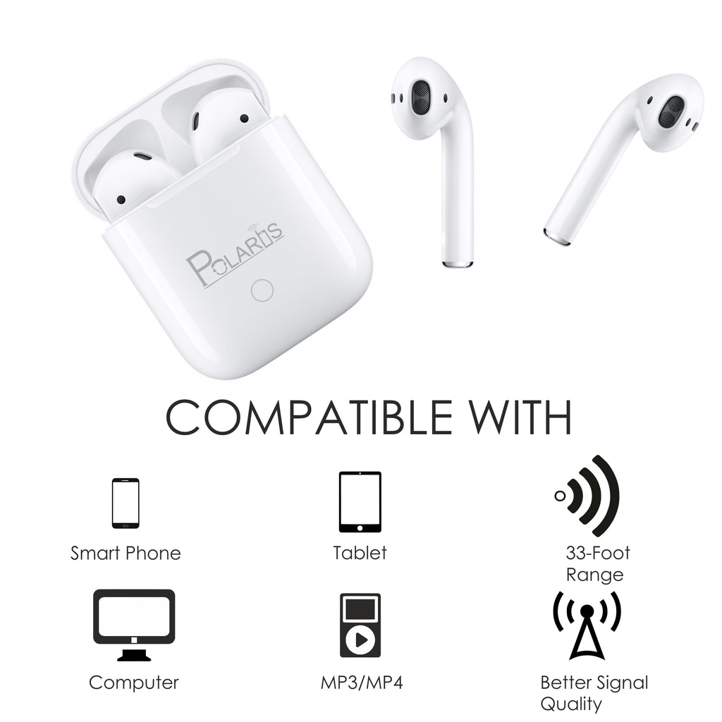 Polaris Wireless Bluetooth Airpods