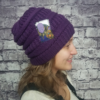 Thanos (Purple) Beanie