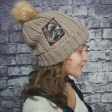 Silent Hill Nurse (Tan) Beanie