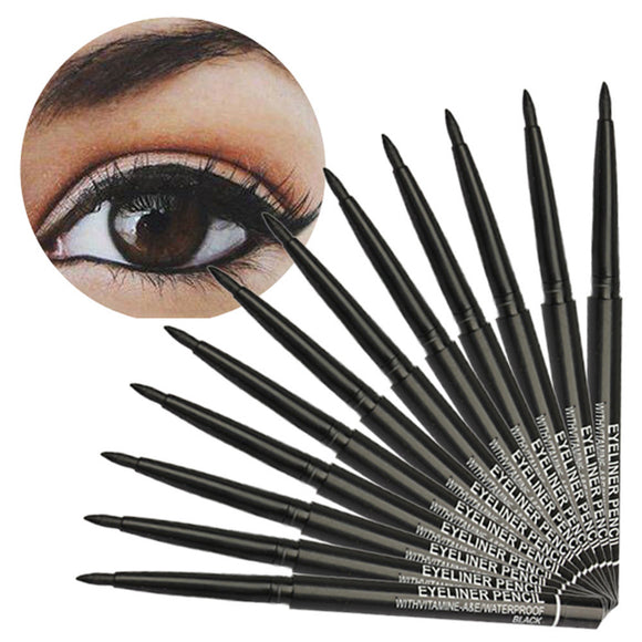 12PCS Makeup Black Eyeliner