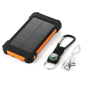 Dual USB Portable Solar Battery Charger
