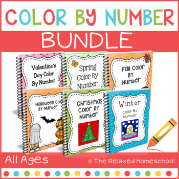 Color By Number Bundle