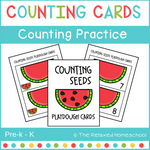 FREE Watermelon Counting Activity