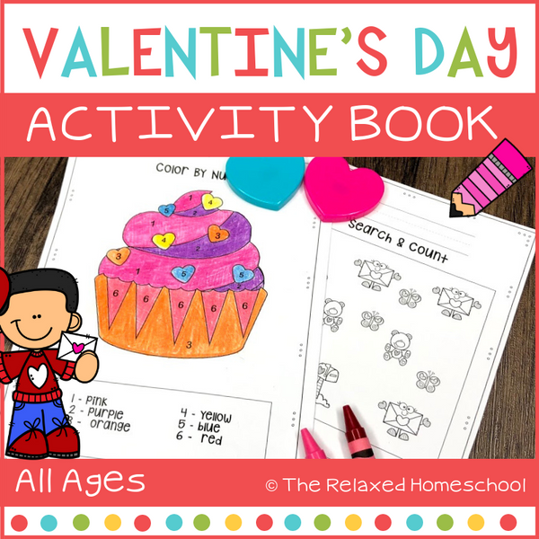 Giant Valentine's Day Workbook