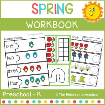 Preschool Spring Theme Pack