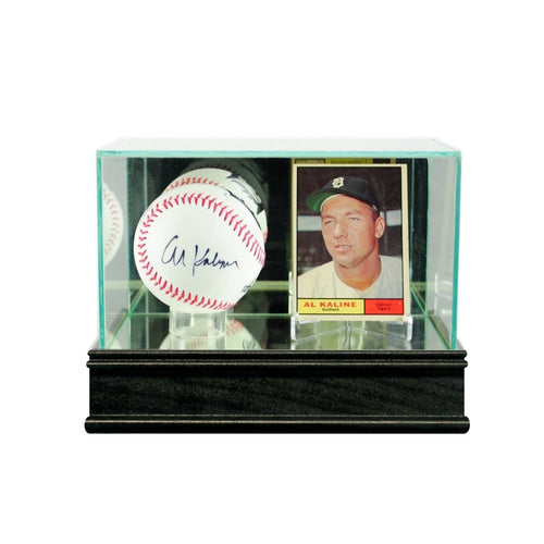 Baseball And Card Glass Display Case
