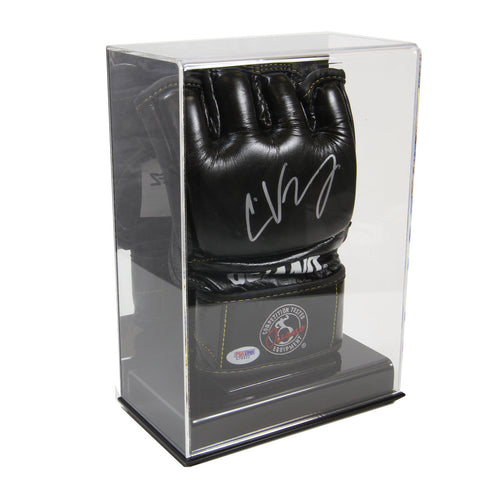 Single MMA Glove Acrylic Display Case with Mirror Back