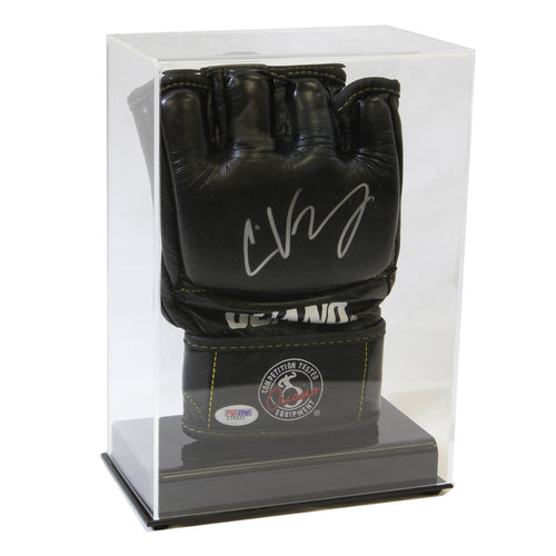 Single Glove Clear Acrylic Display Case - For UFC/MMA, Baseball or Football Gloves