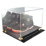 Double Shoe Display Case