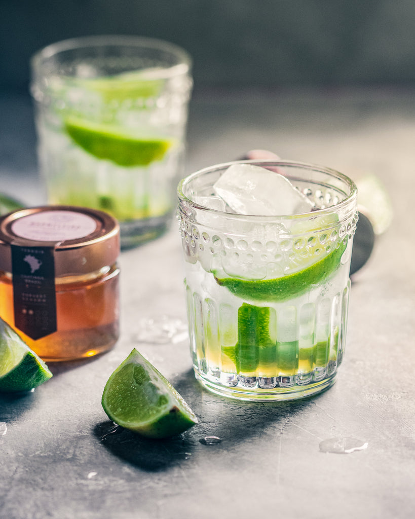 Lime and Honey Caipirinha Brazilian