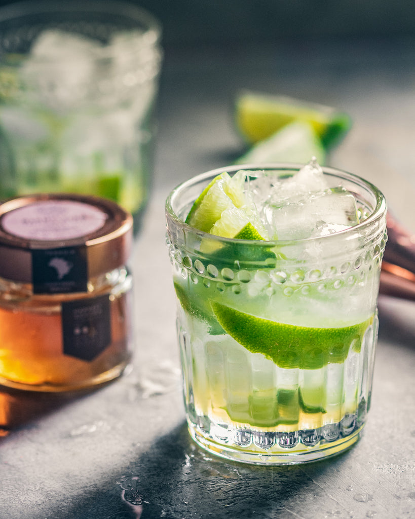 Brazilain Lime and Honey Caipirinha
