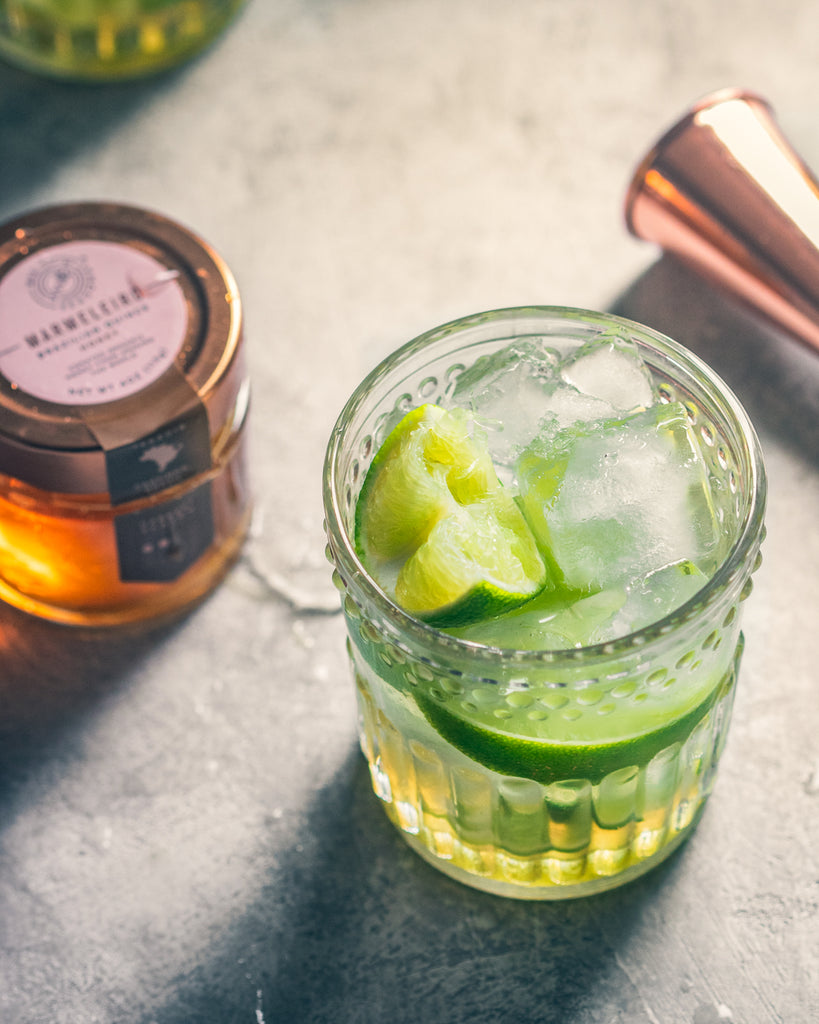 Lime and Honey Caipirinha