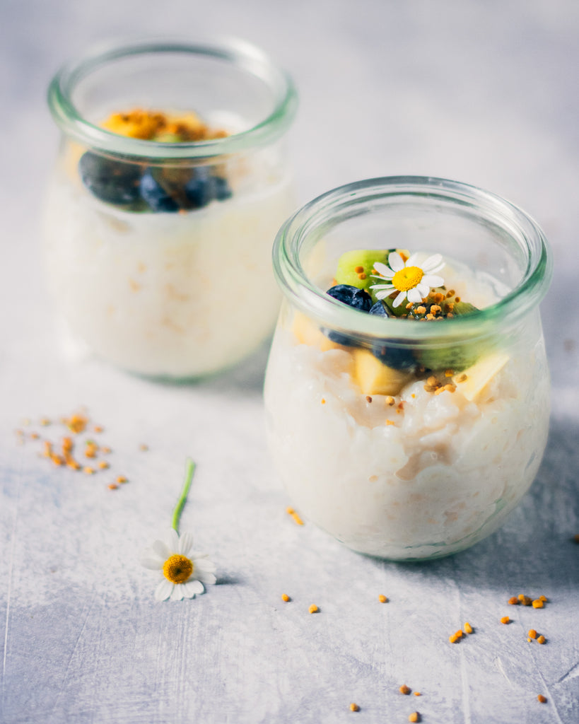Tapioca Pudding with Honey