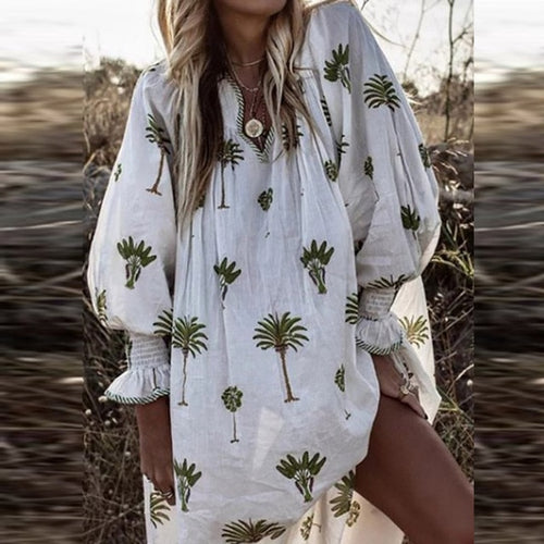 Coconut Palm Dress