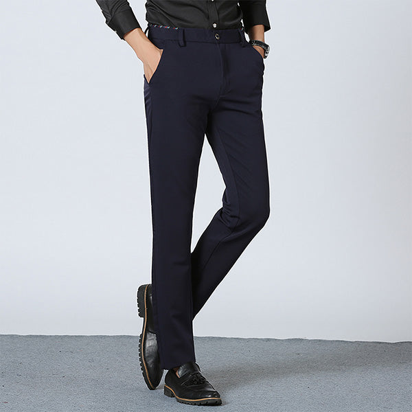 Drizzte Men's Soft Elasticity Casual Dress Pants - Erbana 88