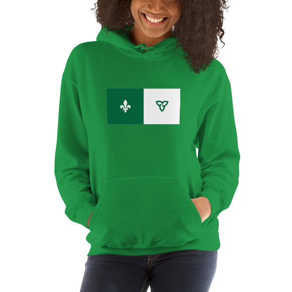 Franco-Ontarien - Unisex Hooded Sweatshirt