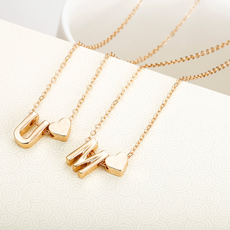 Personalized Golden Pendant Necklace