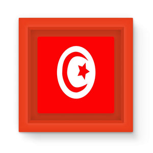 Flag Of Tunisia Magnet Frame Homeware Flagdesignproducts.com