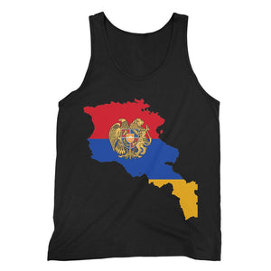 Armenia Continent Flag Fine Jersey Tank Top Apparel Flagdesignproducts.com