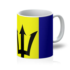 Flag Of Barbados Mug Homeware Flagdesignproducts.com