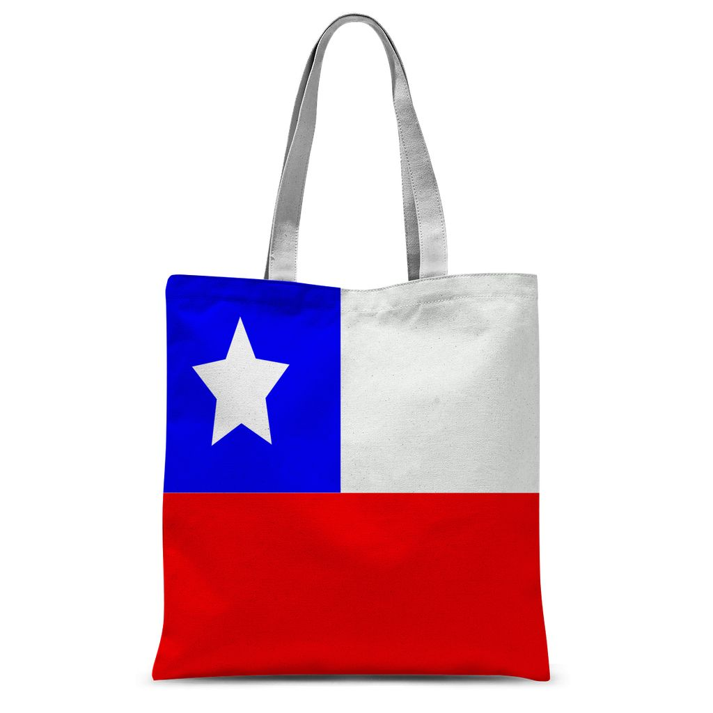 Flag Of Chile Sublimation Tote Bag Accessories Flagdesignproducts.com